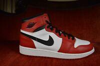 Red White Nike Air Jordan 1 Retro High OG Chicago Size 7 Y GS 332558-163 Banned
