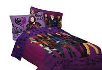 Disney Descendants Best of Both World's Reversible Twin/Full Comforter, Purple
