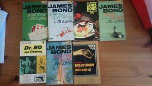 James bond books collection