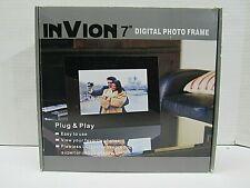 "InVion 7"" Digital Photo Frame"