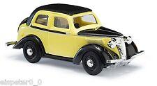 Busch 41206 , Ford Eifel '35 Sedán » amarillo, H0 modelo de coche 1:87