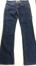 HABITUAL Designer Denim Jeans DAWNS LIGHT Women's Size 27 Boot Cut Med Wash EUC
