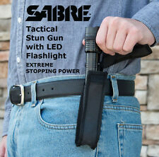 SABRE Tactical Stun Gun with LED Flashlight/ Extreme Stopping Power