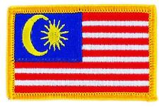 Patch embroidered Patch Flag MALAYSIA MALAY Fusible Badge Coat of arms