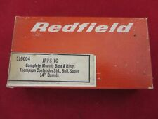 REDFIELD SCOPE BASE & RINGS FOR THOMPSON CONTENDER, NEW OLD STOCK