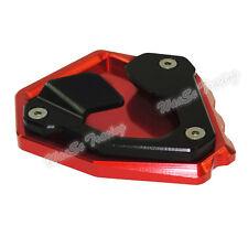 Patin de béquille latérale élargissement rouge pour HONDA CRF1000L Africa Twin