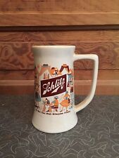 Vintage Schlitz Beer The Beer That Made Milwaukee Famous Pottery Beer Stein