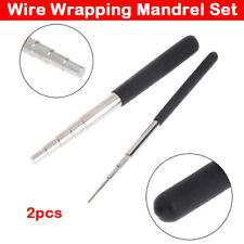 5 Step Wire Wrapping Mandrel Set Carbon Steel Make Loops Circles Coils in Wire