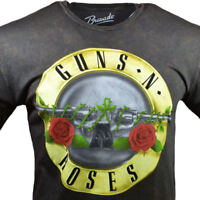 GUNS N ROSES Mens Tee T Shirt Rock Vintage Tour Logo Music Band M L XL 2XL NEW