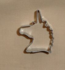 "Unicorn Head,Fantasy Mini,Cookie Cutter,Metal,1.5"",Metal,OTHP,Biscuit.Tiny,"