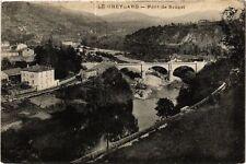 CPA  Le Cheylard - Pont de Sauzet  (484908)