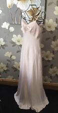 Brand New Nude Blush Maxi Dress -Evening/Prom/Bridesmaid ♡ ♡ ♡ Size 10