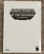 Masters of the Universe Classics He-Man Action Figure MOTUC MIB MOTU