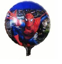 "Super Hero MARVELS SPIDER MAN 18"" FOIL HELIUM BALLOON BIRTHDAY PARTY DECORATION"