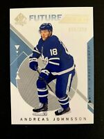 2018-19 SP Authentic #160 Andreas Johnsson FW RC/999