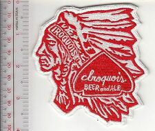 Beer Iroquois Beer & Ale 1842 Jacob Roos Brewery Employee Patch Lake George, NY