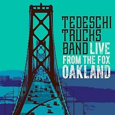 Tedeschi Trucks Band-Live from the Fox Oakland (dlx.2cd/dvd) 2 CD + DVD NUOVO