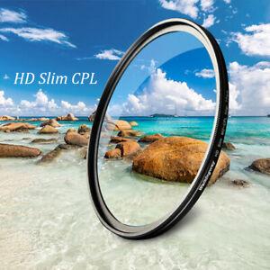 Slim MC-CPL Multi-Coating Polarizing Filter for 49 52 55 58 62 67 72 77 82 mm
