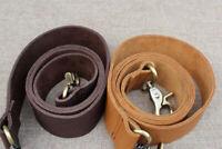 Real Leather+Webbing Shoulder Handle Bag Handbag Purse Strap Replacement
