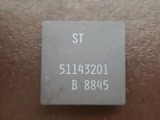 1 X ST 51143201 B8845   VINTAGE CERAMIC CPU FOR GOLD SCRAP RECOVERY