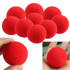 8 pcs 4.5cm Soft Red Sponge Ball Close-Up Magic Street Fashion Comedy Trick