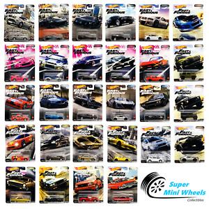 Hot Wheels Premium Fast & Furious 1:64 - You Choose - Update 11/12/2020