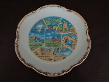 """Vintage Utah 7-3/8"""" Collector Plate With Gold Edge (Cat.#2B020)"""