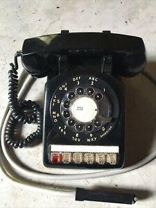 rotary multi 5 line  handset 564 ITT telephone black