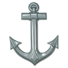 Beistle Plastic Ship's Anchors Asstd Colors Pack Of 24