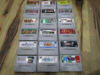Super Famicom Lot of 18 piece Donkey Kong Final Fantasy SNES T526
