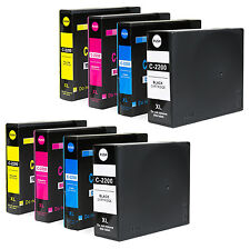 8 PK PGI-2200XL PGI 2200 XL Ink Cartridges For Canon MAXIFY IB4020 MB5020 MB5320