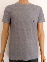 Hollister Men's Must-Have Crew Neck T-Shirt Tee Heather Grey XL