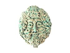"NEW AND SEALED - SMALL ""GREEN MAN"" GARDEN ORNAMENT WALL PLAQUE- UNUSUAL PIECE"