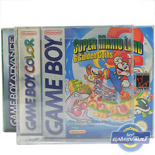 10 Nintendo Gameboy/Color Game Box Protectors STRONG 0.5mm Plastic Display Case
