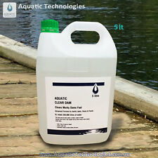 Aquatic Clear Dam - 5 Litre. Clears Murky Dams and Ponds