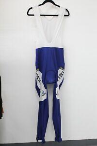 Nippo Fantini Cycling Bib Long Pants Padded Men's Size XL