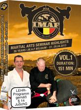 35 Jahre IMAF Seminar DVD Vol.1 Kampfsport Ju-Jitsu, Judo, Goshindo, Karate ...