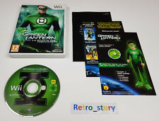 Nintendo Wii Green Lantern : La Révolution Des Manhunters PAL