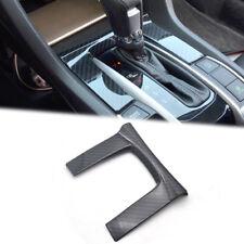 For Honda Civic Sedan 2016 - 2018 Carbon Fiber Style Gear Shift Panel Cover Trim