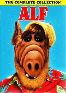 ALF COMPLETE SERIES COLLECTION SEASON 1+2+3+4 Box Set DVD R1 Brand New & Sealed.