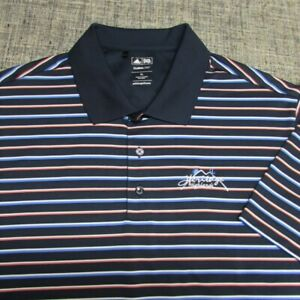 ADIDAS CLIMALITE POLY GOLF SHIRT--XL--HERITAGE HIGHLANDS--TOP SPOTLESS QUALITY
