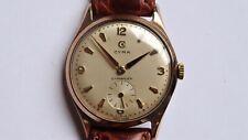 CYMA Cymaflex 9k solid gold vintage watch handwinder