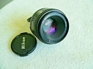 NIKON AF NIKKOR 50mm 1:1.8 Lens Made in Japan