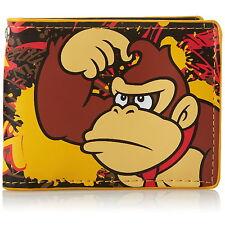 NUOVE UFFICIALI di Nintendo Super Mario Donkey Kong Classico Retrò Carta Coin Wallet