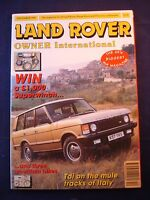 Land Rover Owner LRO # December 1993