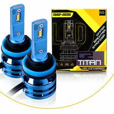 2 TITAN H11 H9 H16 LED Headlight Bulb Kit Low Beam Fog Light Xenon 10000 Lumens