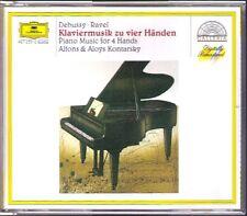 Alfons & Aloys KONTARSKY: DEBUSSY RAVEL Piano Duo 2CD Ma mère l'Oye Petite Suite