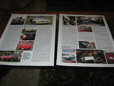 Rick Bufton article classic Corvette Club inc Trans Am JGT702T, Ford Mustang
