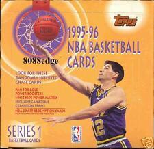 1995-96 TOPPS S1 NBA BASKETBALL JUMBO BOX-DRAFT REDEMPTION!MICHAEL JORDAN FINEST