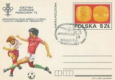 Poland postmark WARSZAWA - sport football world cup Meksyk 86